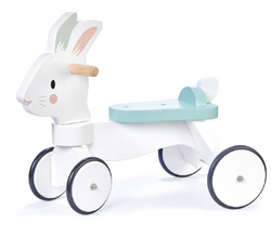 Tenderleaf Running Rabbit Wooden Ride On