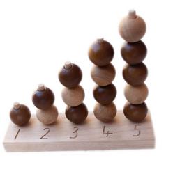 Qtoys Natural Counting Balls