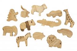 Qtoys African animals set of 12