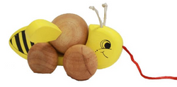 Qtoys Bee Pull Toy