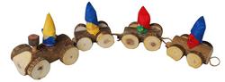 Qtoys Gnome Log Train