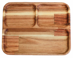 Qtoys Rectangular divided tray