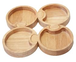 qtoys round puzzle trays