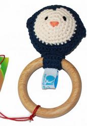 Animal Crocheted Rattle