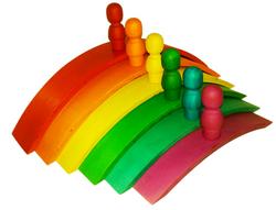Qtoys Rainbow Arch set