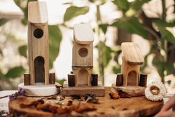 Qtoys Bamboo Fairy House