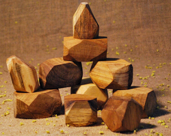 Qtoys Natural Wooden Gems
