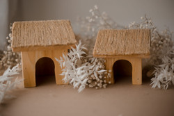 Qtoys Wooden Cottage Houses