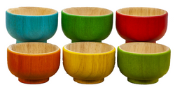 Qtoys Rainbow sorting Bowls
