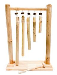 Qtoys Hanging bamboo xylophone