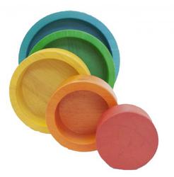 Natural Coloured Nesting and Stacking bowls