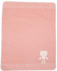 David Fussenegger Rouge Teddy Bear Juwel Bassinet Blanket