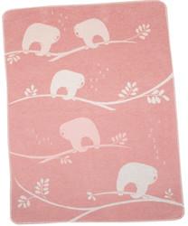David Fussenegger Rouge Sloths Juwel Bassinet Blanket