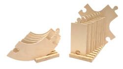 24 Piece Wooden Road Set