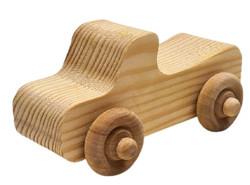 Wooden Car - Convertible