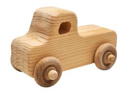 Wooden Car - Ute