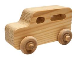 Wooden Car - Van