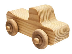 Wooden Cars - Set of 4