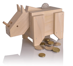 build me money box construction kit