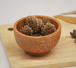 Qtoys Coconut Wood Bowl