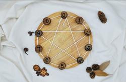 Qtoys Steiner Inspired Maths Learning wheel