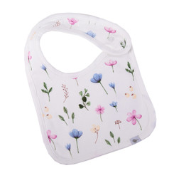Emotion & Kids Fleur Organic Cotton Bib