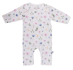 Emotion & Kids Fleur Organic Long Leg Romper