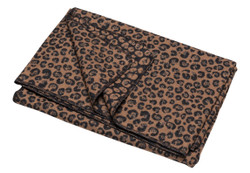 David Fussenegger Brown Leopard Silvretta Throw