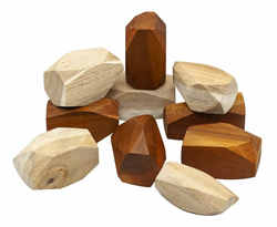 Qtoys Two Tone Wooden Gems