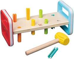 hape rainbow pounding toy