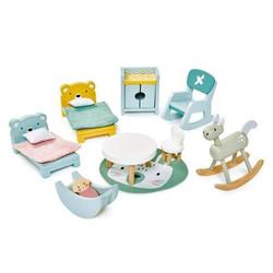 Tender Leaf Toys Dovetail Kidsroom Wooden Furniture Set for Dolls House