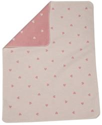 Rose Hearts All Over Juwel Bassinet Blanket