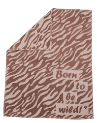 Brown Born To Be Wild Finn Bassinet Blanket