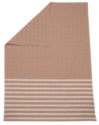 Cork Stripes Mare Honeycomb Bassinet Blanket