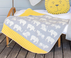 David Fussenegger Grey Zoo Juwel Hooded Blanket
