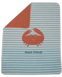 Jade Crab Beach Friend Juwel Bassinet Blanket