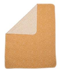 David Fussenegger Gold Sticks Bassinet Blanket In