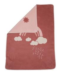 David Fussenegger Rouge Rainbow Maja Bassinet Blanket