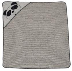 David Fussenegger Off White Panda Bear Juwel Hooded Blanket