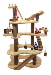 Qtoys Three level tree house play set