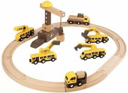 HELO Montessori Magic Engineering Vehicle Set