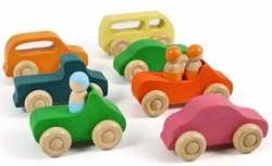 HELO 7 Mini Wooden Cars