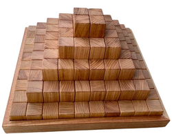 Large Stepped Pyramid - Tasmanian Oak