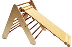 Large Pikler and Slide Set