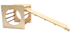 Climbing Cube and Slide Set