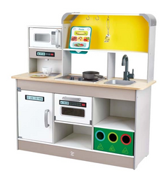Hape Deluxe Kitchen with Fan Stove