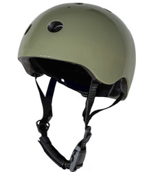 Vintage Green CoConut Helmet - Small