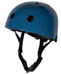 Vintage Blue CoConut Helmet - Small