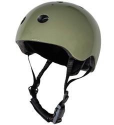 Vintage Green CoConut Helmet - Extra Small