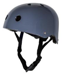Vintage Grey CoConut Helmet - Small